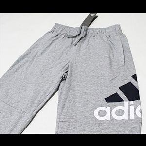 NWT ADIDAS Jogger Sweatpants Gray Pants Medium